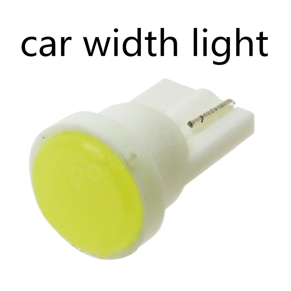 new coming 10 pieces T10 SMD Led Light Bulbs Car Width Indication Super Bright 12V 10W hot sale