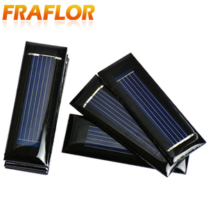 Image 5 - 20PCS/Lot Mini Small 0.5V 100mA Solar Cell Panel Solar Module Accessories For Science and Technology Toy DIY Study 53*18mm