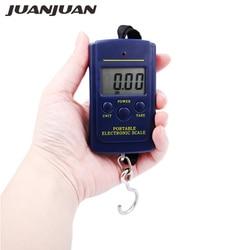 Карманные электронные цифровые весы, 40 кг, 10 г, весы безмен с крючком, подвесные Карманные весы, скидка 20%