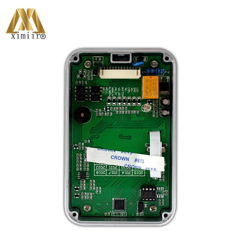 Controlador de acceso único 12V DC impermeable independiente 13,56 MHz MF lector de tarjetas M07 C Control de acceso - 5