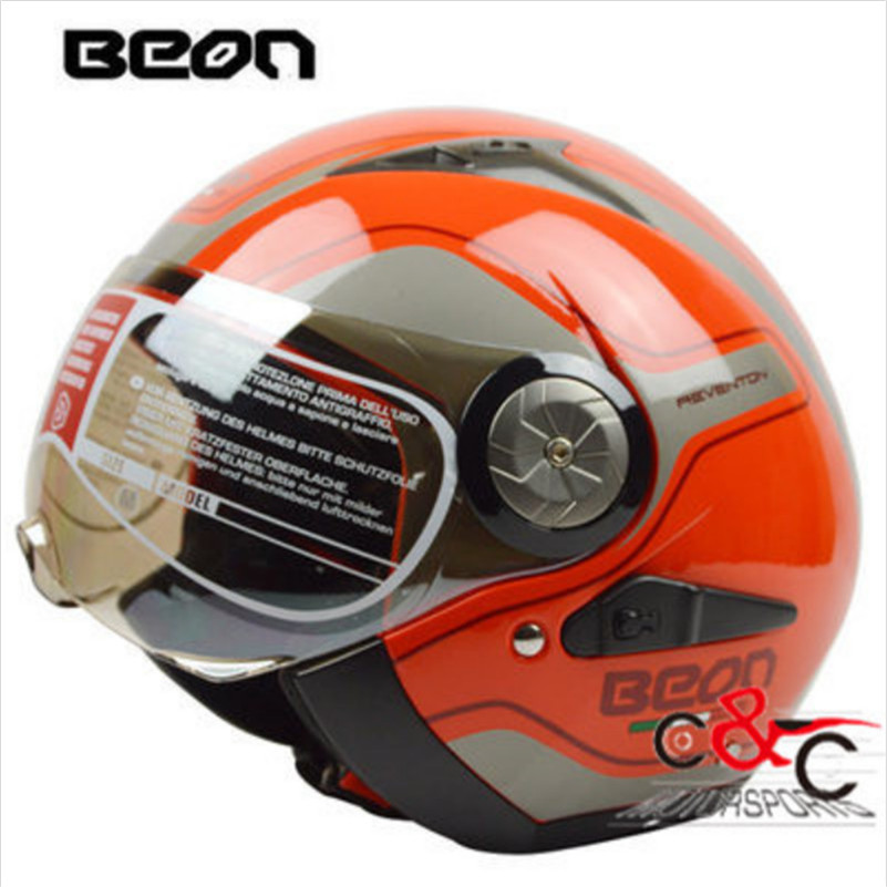 Free Shipping Classic Limited Edition Beon Motorcycle Helmet vintage mens womens moto capacete half face helmet ECE Approved free shipping genuine sports car limited edition motorcycle helmet full helmet ls2 motorcycle oem red and white illusion