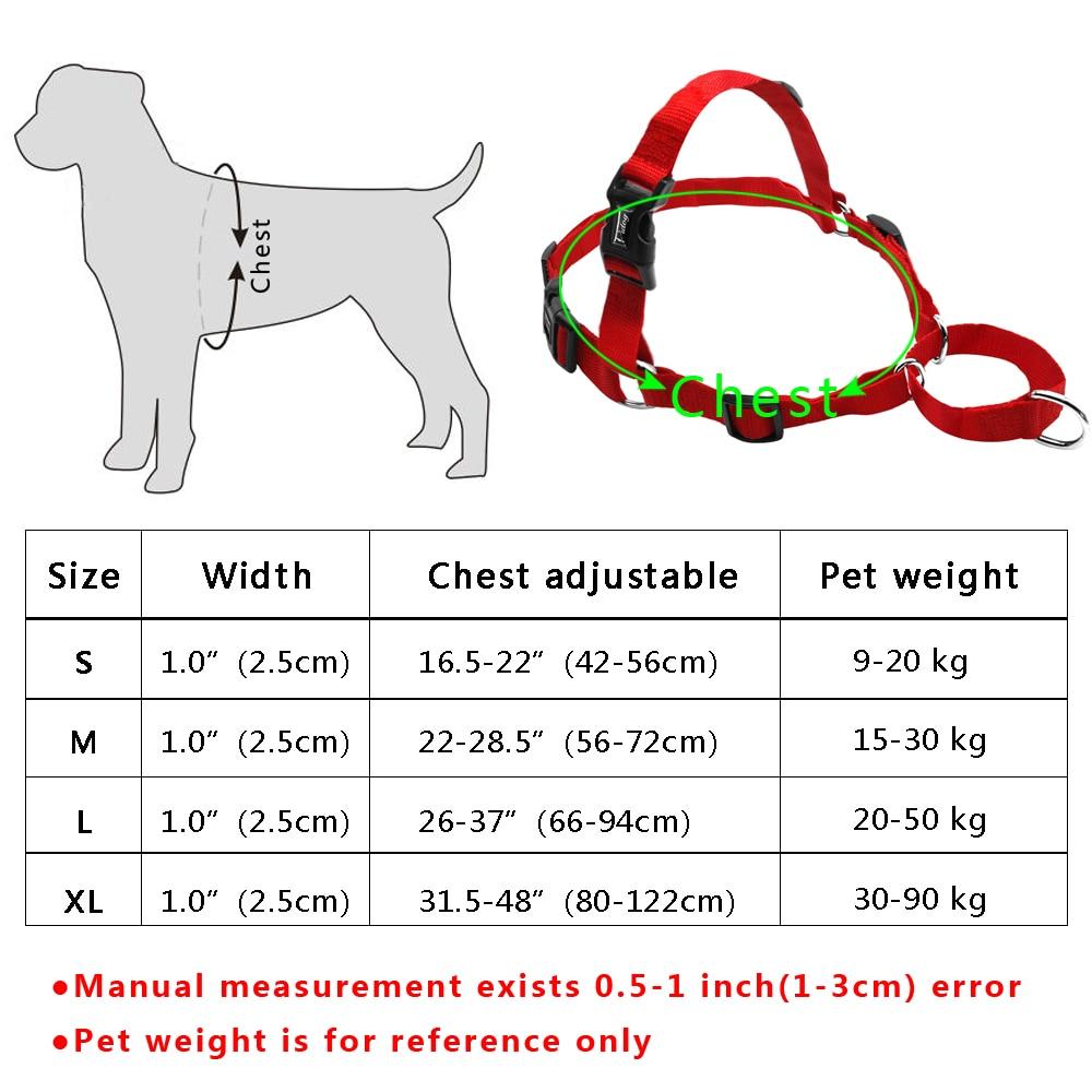 No Pull Nylon Dog Harness Justerbare Pet Dog Harnesses Vest Til - Pet produkter - Foto 6