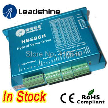Genuine Leadshine HBS86H Easy Servo Drive with Maximum 24 - 75 VAC or 32 - 105 VDC, and 8.5A Current leadshine hbs86 easy servo drive with maximum 20 80 vdc input voltage and 8 5a peak current