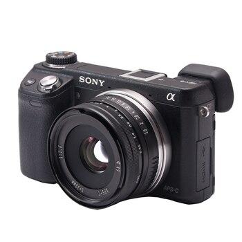 da9e349ba0 32mm F 1,6 F/1,6 APS-C Manual de aluminio de la lente para Sony ...
