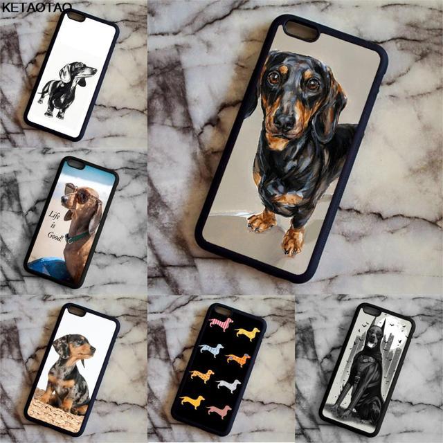 sausage dog iphone 7 case