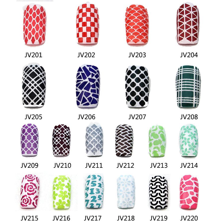 Free Printable Nail Art Template Stencilscute
