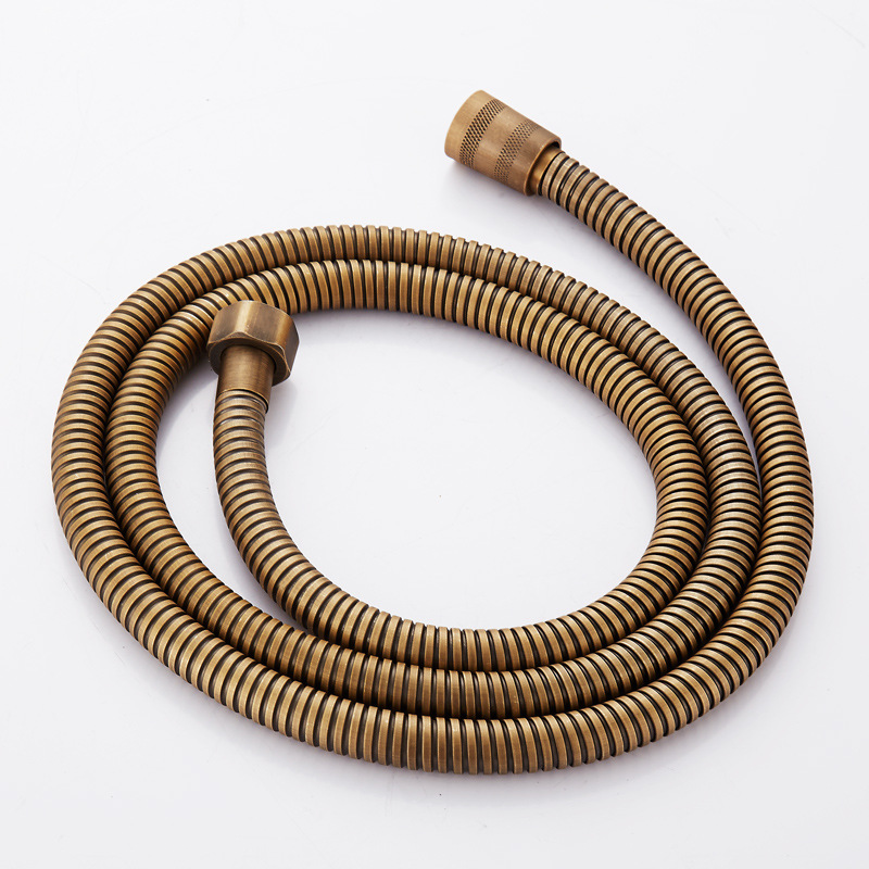 Antique Bronze 304 Stainless Steel Flexible Plumbing Hose Tube High Quailty 1.5m Shower Set Accessories Hand Held Pipe