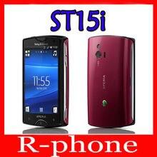 sony Ericsson Xperia mini St15i мобильный телефон Android смартфон 3g wifi A-GPS разблокированный сотовый телефон