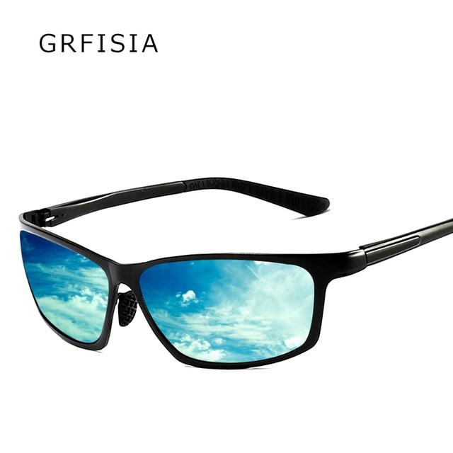a7545a6e2a GRFISIA Driving Anti Glare Sunglasses Men Polarized Fashion Glasses Brand  Designer Square Sun Glasses Fashion Shades