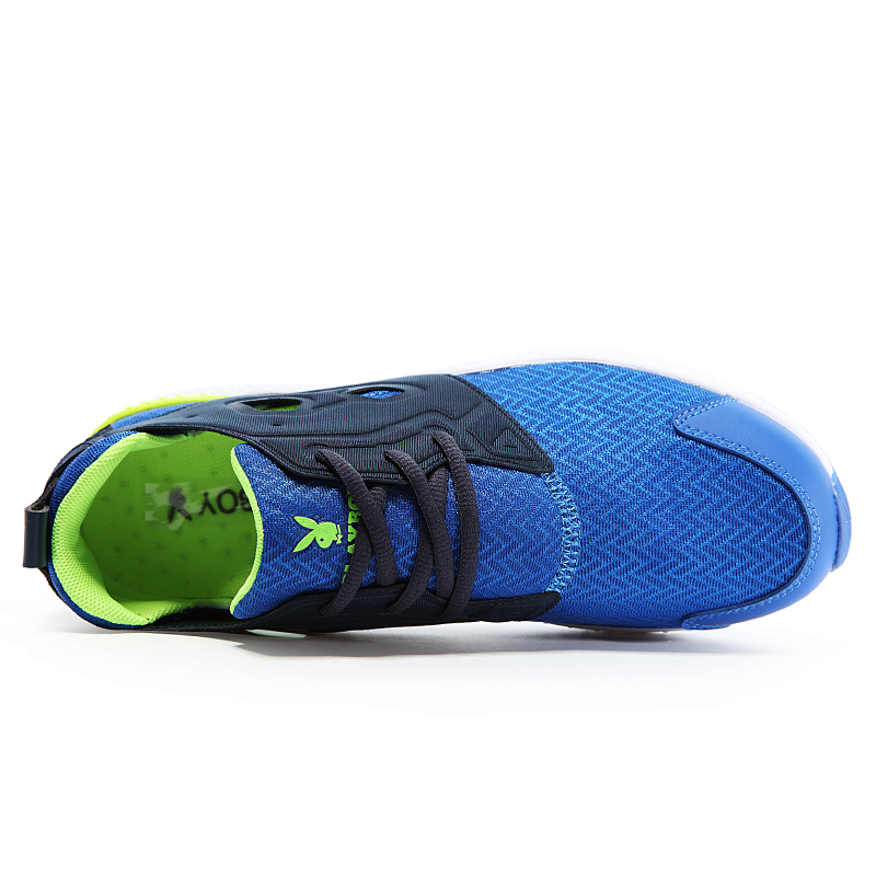 73c98e67b0 Zapatos blanco 2016 Respirables Azul Playboy Hombres amarillo Deportivos  Moda Ocasionales Planos Verano Cómodo qAw51wP