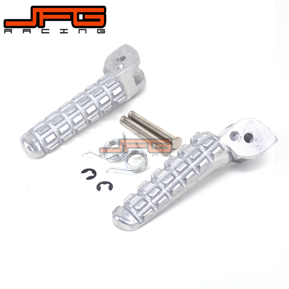 Footrest Front Foot Pegs Rests Pedals For DUCATI Monster 696 796 2009-2014 2009 2010 2011 2012 2013 2014 Motorcycle