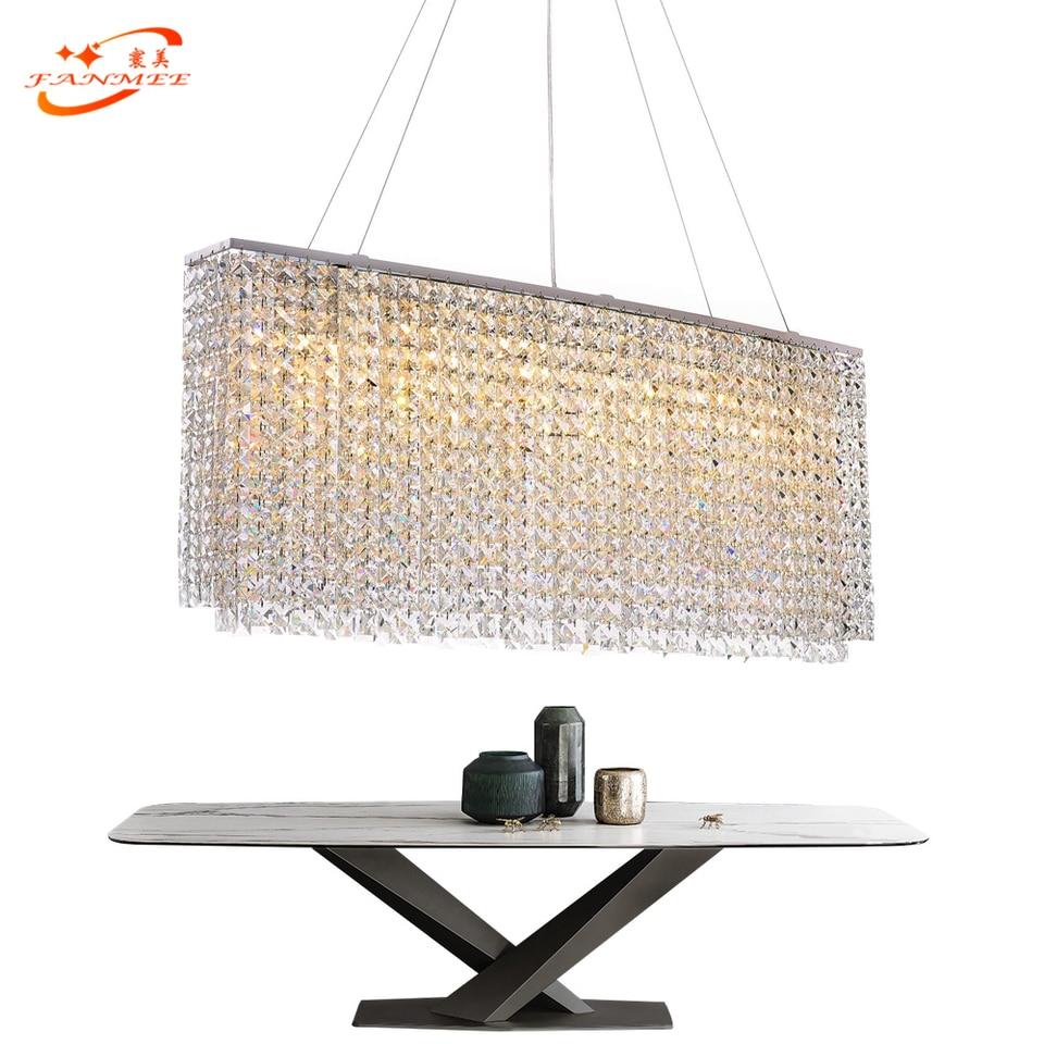 Fanmee Modern Crystal Chandelier Light