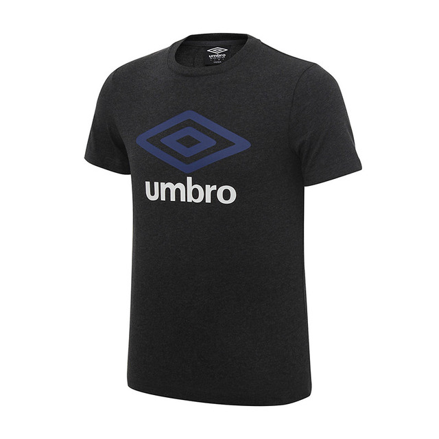 Umbro 2017 Novos Homens Verão T-shirt Curto umbro Logotipo Execução Camisa  Top Tees T 688f6c8004c