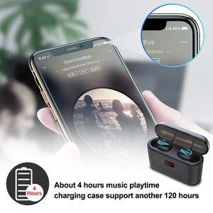 Image 3 - ALWUP Bluetooth 5.0 TWS Tai Nghe Không Dây Blutooth Tai Nghe Thật không dây Âm Thanh Stereo Tai Nghe Nhét Tai Thể Thao HBQ Q32