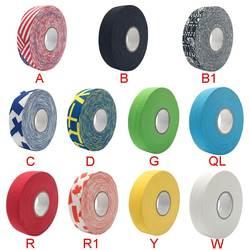 1 шт. 2,5 см x 25 м ткань хоккей клейкие ленты Спорт Детская безопасность футбол волейбол баскетбол наколенники Хоккей ручка локоть