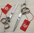 17.5cm Thinning Barber Hair Teeth Flat Silver Scissors Stainless Steel Hair Scissor Hairdresser Shear Clipper DIY G001