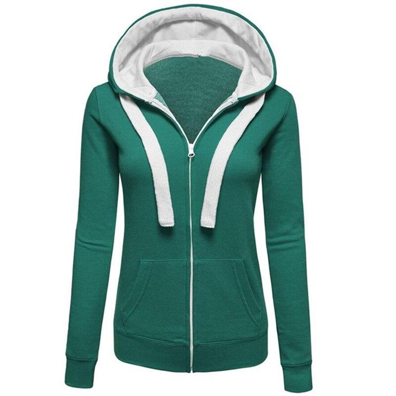 501d41649cdb4 BATTERLOVER Women Hoodies Zip up Sweatshirt Womens Long Hooded Girls  Sweatshirts Coat Casual Outerwear Tops Harajuku Hoodie 2017-in Hoodies    Sweatshirts ...