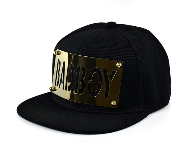 fashion summer men women hat 2016 letter gold baseball cap hip-hop skating gorras snapback caps trucker hats flat cap