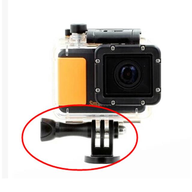 Tripod screw  GoPro Accessories 1/4 Tripod Mount Adapter + Screw Nut for GoPro HD Camera Hero5 4 3 / 2 / 1 sj4000 tripod adapter