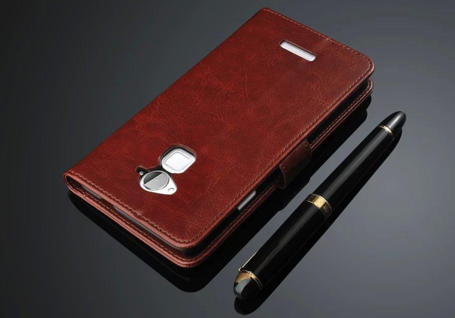hot sale online db642 bdb0a US $9.99 |Aliexpress.com : Buy Genuine Leather Case High Quality For  Coolpad Dazen Note 3 Case Flip Cover for Coolpad Note 3 Case Business  Wallet ...