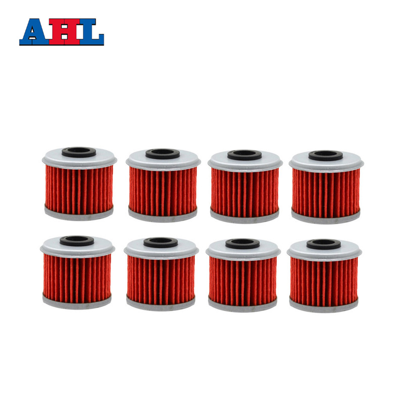 8pcs Motorcycle Engine Parts Oil Grid Filters For Honda Crf150r