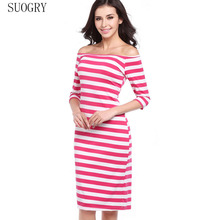 SUOGRY  Womens Sexy Elegant Summer Floral Vintage Tunic Slim Casual Party Fitted Sheath Pencil Bodycon Dress