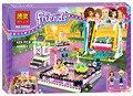 Bela 10560 elfos princesa amigos del parque de atracciones parachoques cars building blocks classic de cabritos de la muchacha juguetes figuras marvel lepin
