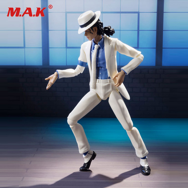 Doll-Models Figure Moonwalker Smooth-Criminal Michael Jackson Collections Movie PVC