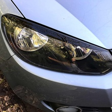 Car Headlight Eyebrow Eyelids ABS Stickers Trim Cover For VW GOLF VI MK6 2008 2009 2010 2011 2012 2013 Accessories Car Styling
