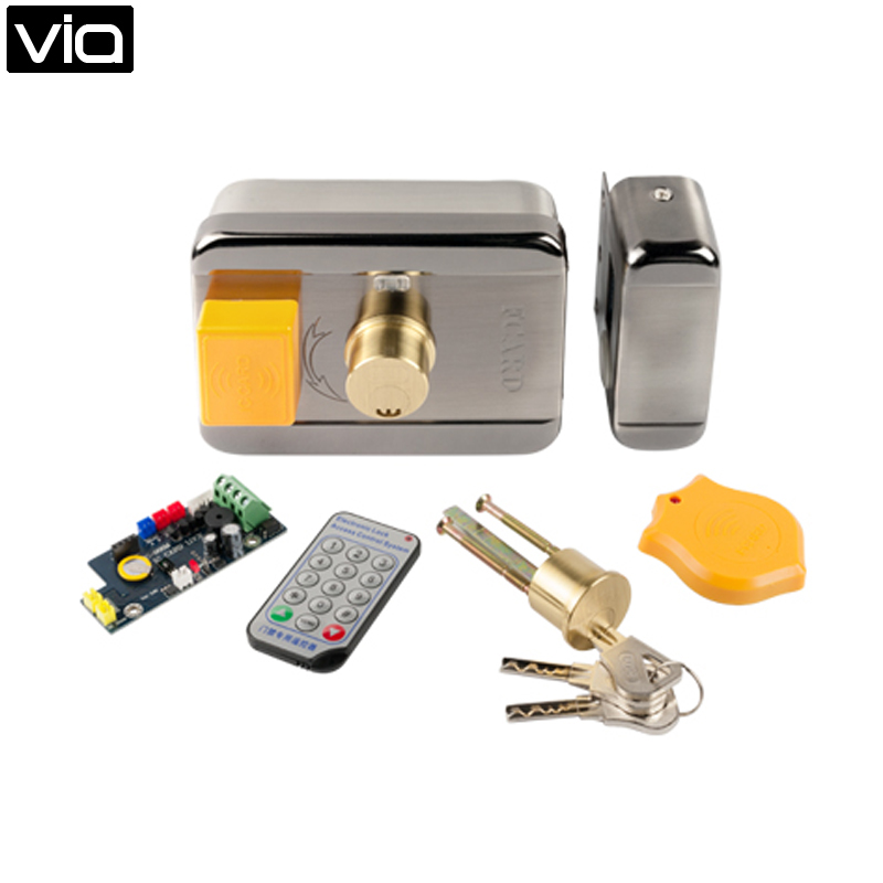 ФОТО FCL-989M Free Shipping Offline Voice Encryption Security Card Lock, Dopt Integrated Design, Combined With Reinforced