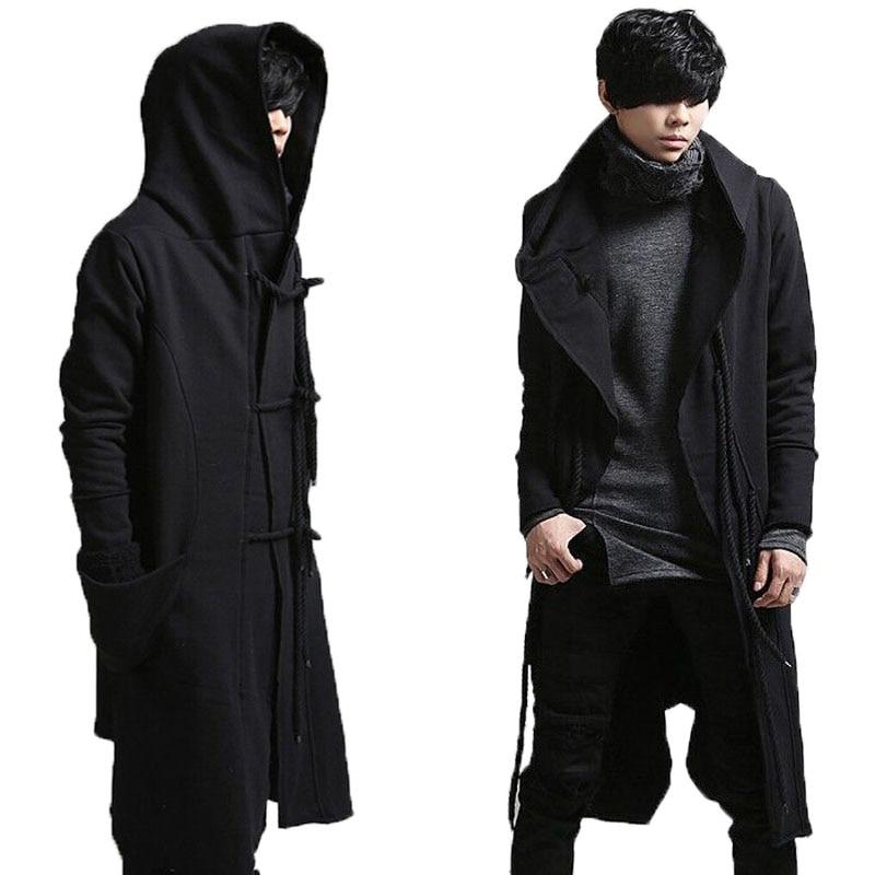 Popular Long Black Coats Men-Buy Cheap Long Black Coats Men lots