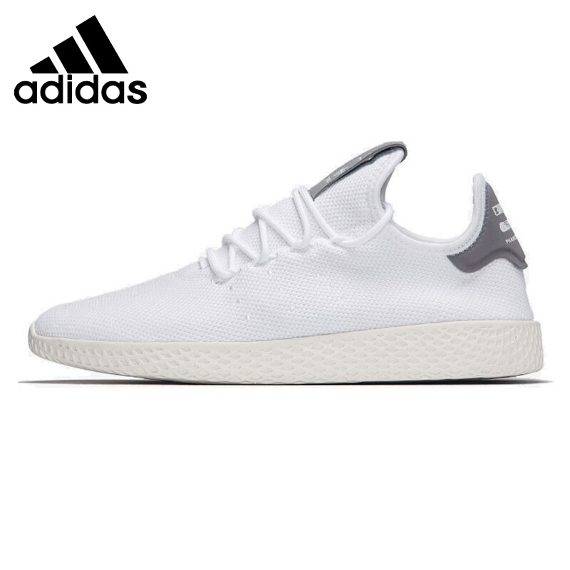Original New Arrival 2018 Adidas Originals PW TENNIS HU Unisex Skateboarding Shoes Sneakers