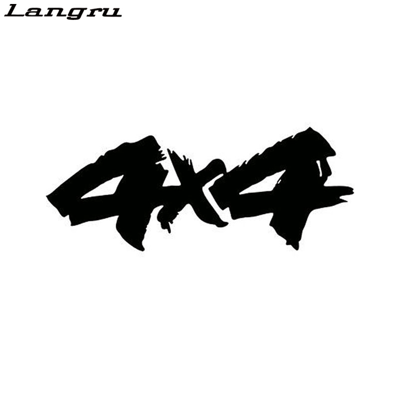 Langru 4X4 Interesting Vinyl Decals Car Sticker Motorcycle Decor Personality Car Accessories Jdm(China)
