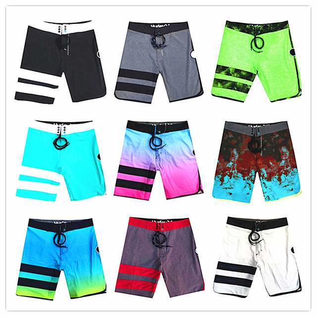 2019 Bermuda Brand Phantom Men Elastic Beach Boardshorts Adults Swimwear High Quality Swimshort Quick Dry Sexy Gay Male Swimsuit