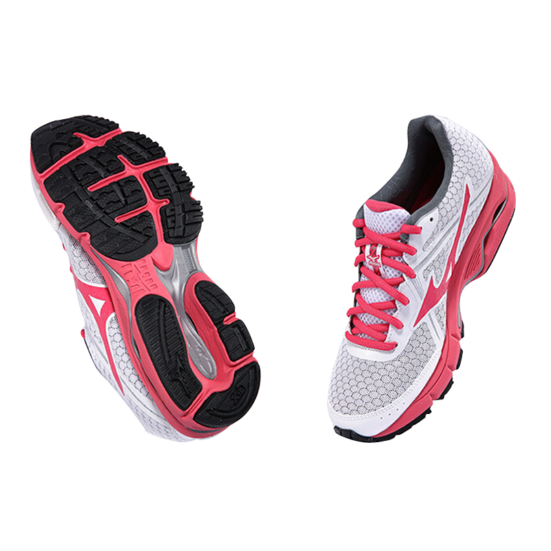 MIZUNO XYP262 Light ULTIMA WAVE Beathable Sneakers Running Shoes Sports Shoes Women's Cushioning 6WStability J1GD140904 Mesh 4R5j3AL