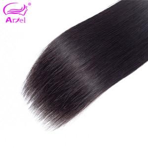 Image 5 - Mechones de pelo lacio extensiones de pelo ondulado mechones 100% cabello humano ondulado extensión de cabello no Remy Color Natural 32 30 pulgadas mechones