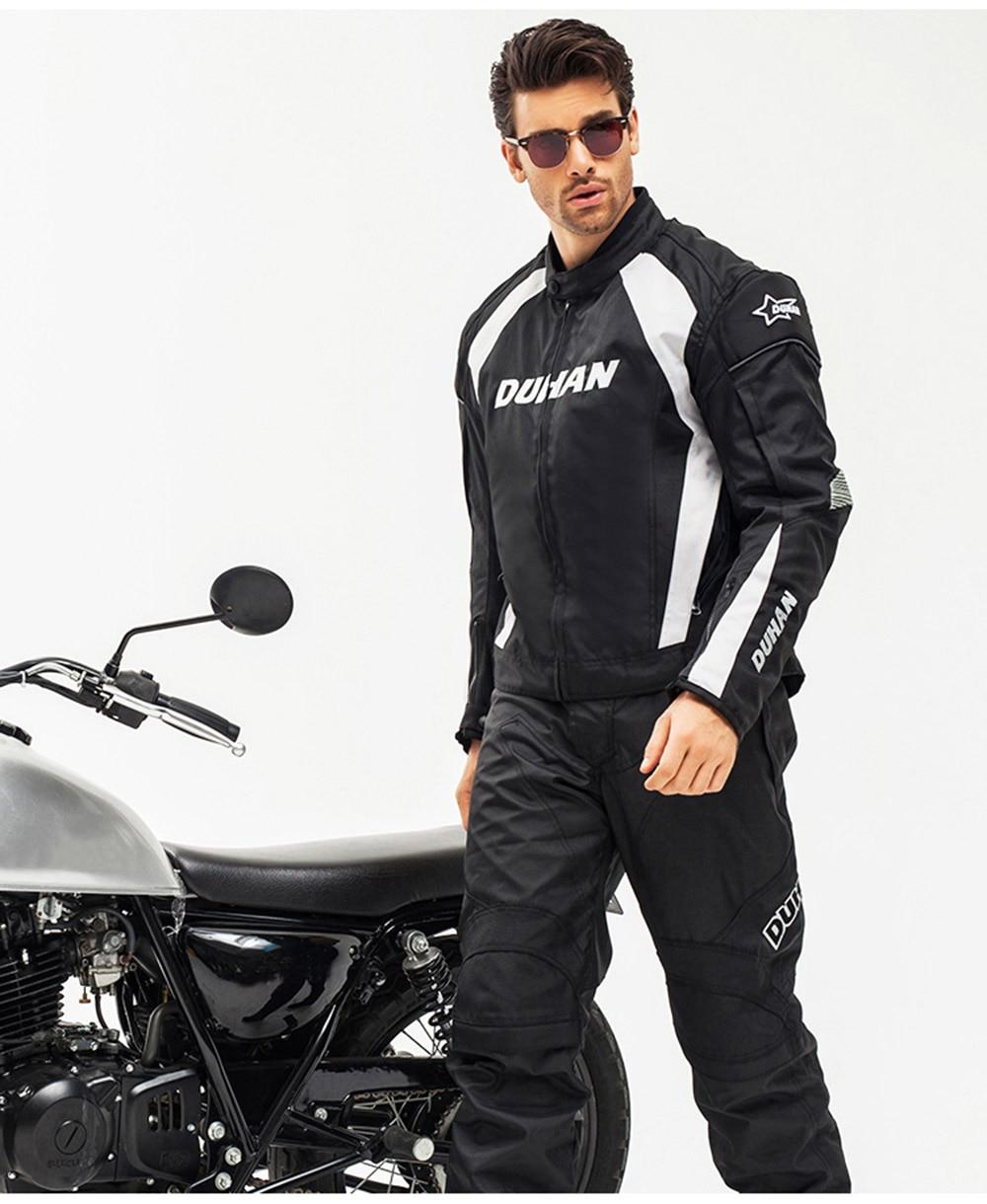 Großhandel Motorradjacke Männer Windundurchlässige Moto Motocross Jacke Bekleidung Protektoren Mit Fünf Schutz Schutz Motorrad Jack Von Carpooling,