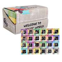 UTOYSLAND 24pcs/set Metal Wire Puzzles IQ Brain Teaser Classical Intellectual Toy for Children Adult