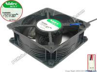 Nidec B31257-16A P/N 930009 PWRP6 TA450DC DC24V 0.28A 120x120x38mm