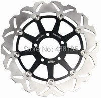 Pair Stainless Steel Front Brake Disc Rotors For Suzuki Hayabusa GSXR 1300 600 750 1000 1100