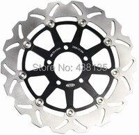 Pair Stainless Steel Front Brake Disc Rotors For Suzuki Hayabusa GSXR 1300 600 750 1000 1100