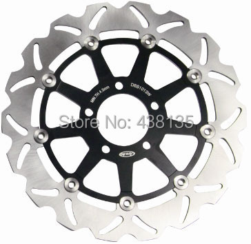2PCS Motorcycle Front Brake Disc Rotors for Suzuki Hayabusa GSXR 1300 600 750 1000 1100 TL1000R TL1000S GSX1400 full set front rear brake discs disks rotors pads for suzuki gsxr 750 94 95 gsx r 1100 p r s t 1993 1994 1995 1996