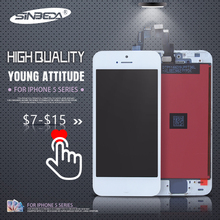 Sinbeda 3pcs/lot LCD For iPhone 5 5S LCD Touch Screen Pantalla Digitizer for iPhone 5C 5S 5 LCD Ecran Tela цена и фото