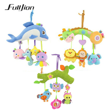 Fulljion Baby Toddler Rattles Mobiles Musical Toy For Baby T