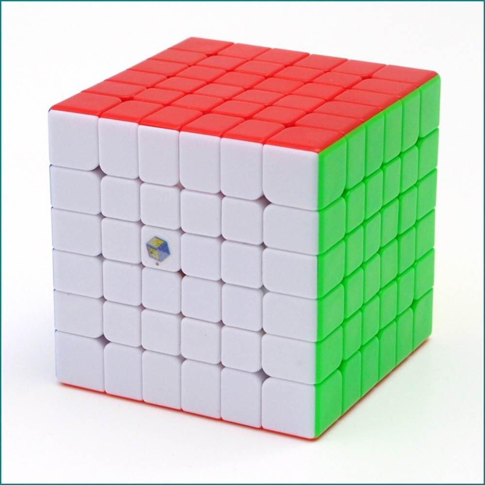 Yuxin Hongqilin 6*6*6 Cubes magiques Puzzle vitesse compétition Cube jouets éducatifs cadeaux pour enfants enfants