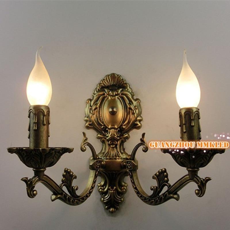 RH French designer lamps Loft balcony Continental American industrial retro creative trumpet mechanical arm wall lamp