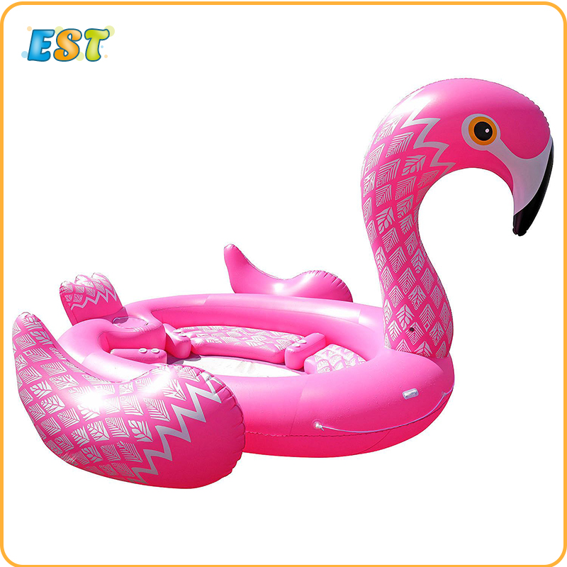 Super Giant Water Toys Pool Fun Raft Inflatable Pink