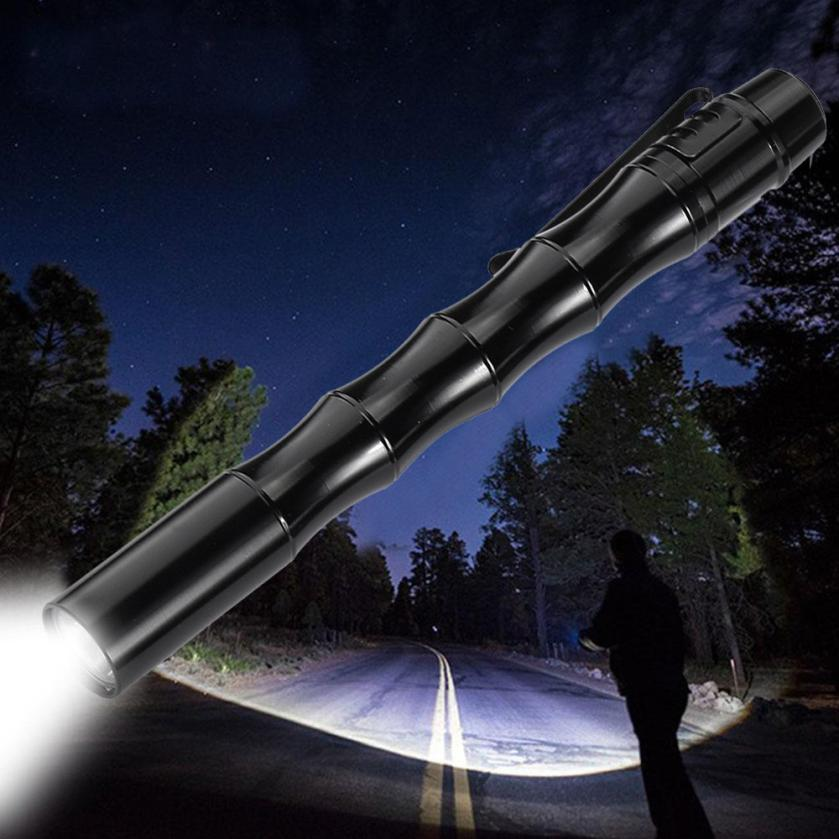 MUQGEW Hot Mounted On Bicycle Outdoors Tactical Mini Pen Pocket CREE Chips XP-E R2 LED 1000LM Flashlight Torch Fine Waterproof