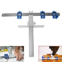 Wood Drill Guide Punch Locator Sleeve Cabinet Hardware Jig Drawer Pull Jig Dowel Furniture Punching Tool Woodworking