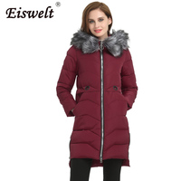 Plus Size Parkas Thick Cotton Women S Down Coat Female Jacket Fur Hooded Winter Jackets Outerwear